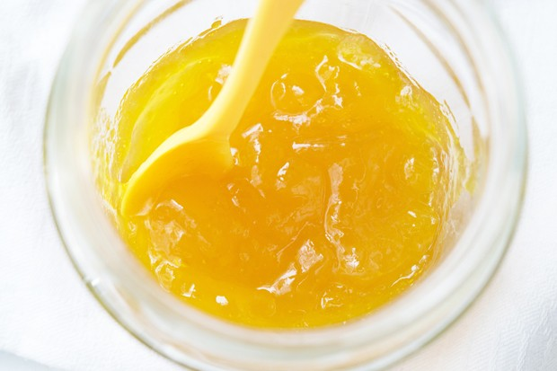 Orangen-Campari-Gelee