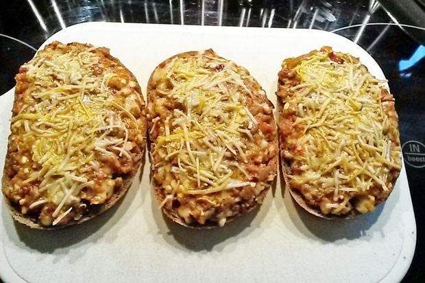 Überbackene Brote