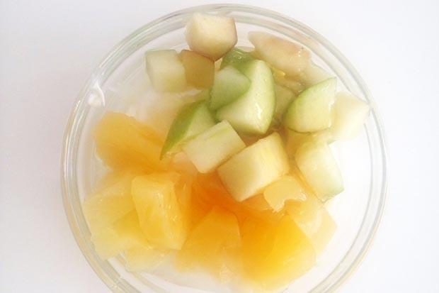 Apfel-Ananas-Joghurt