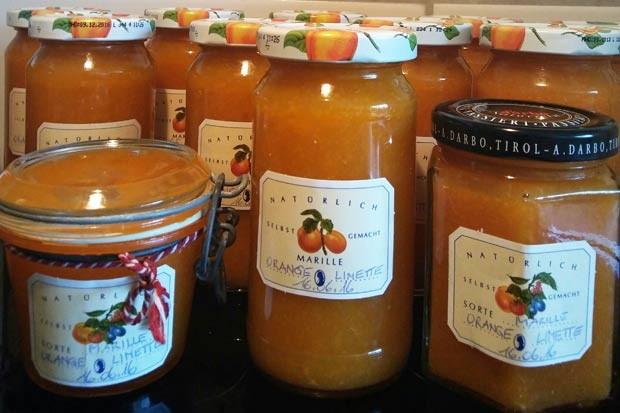 Marillen-Mix Marmelade (zuckerreduziert)
