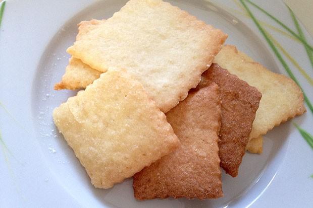 Einfache Butterkekse