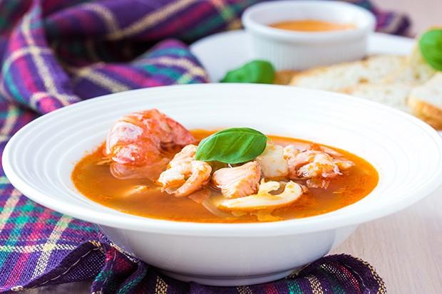 Bouillabaisse - französische Fischsuppe
