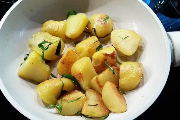 Estragonkartoffel