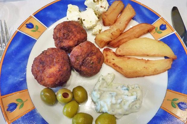 Keftedes - griechische Fleischbällchen