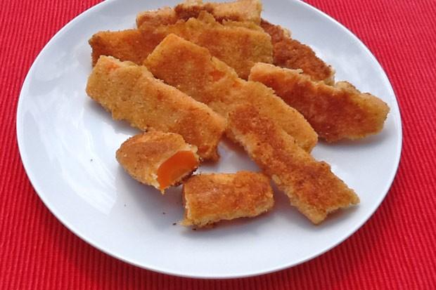 Panierte Karotten