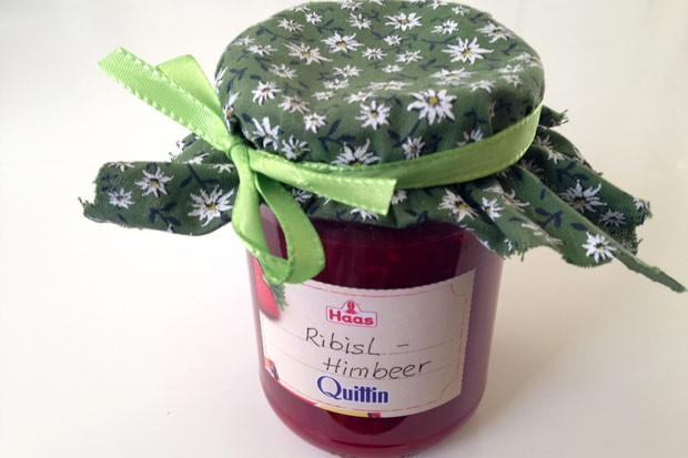 Ribisel-Himbeer-Marmelade