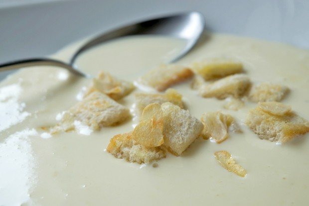 Croutons mit Knoblauch