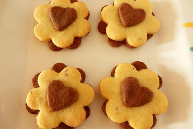 Schwarz-Weiß-Kekse