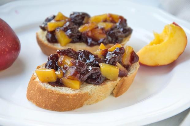 Nektarinen-Heidelbeer-Marmelade