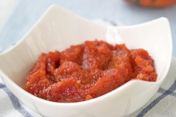 Kürbis-Himbeer-Marmelade