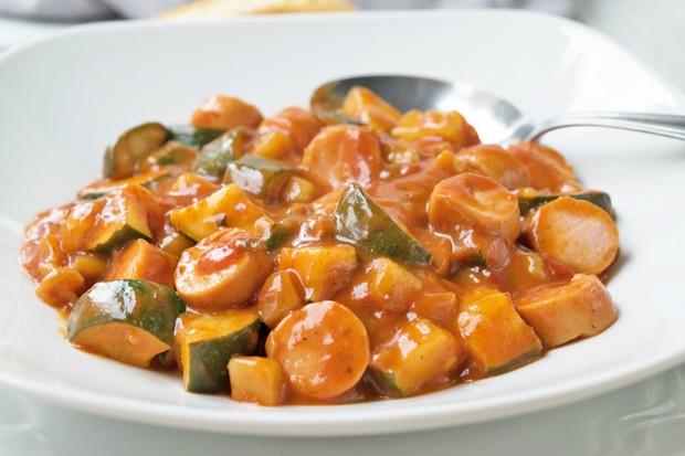 Zucchini Gulasch