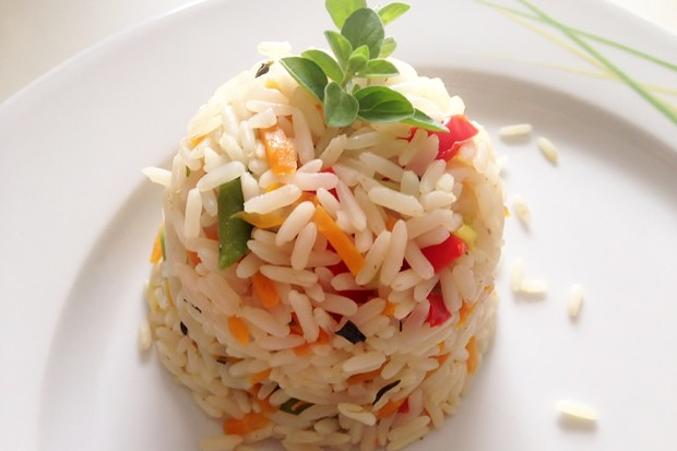 Gemüse-Kräuter-Reis