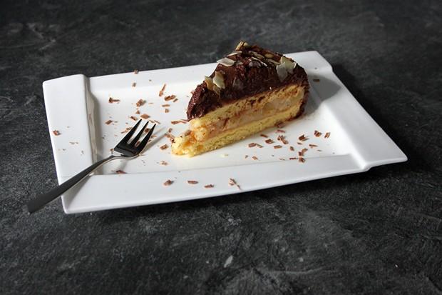 Apfel-Schokolade-Torte