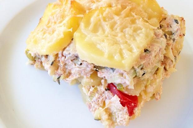 Kartoffel-Thunfisch-Auflauf