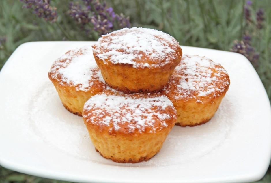 Karotten-Zitronen-Muffins