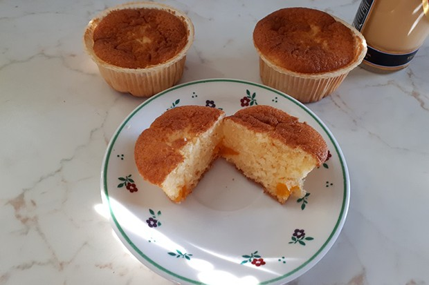 Mandarinen-Eierlikör-Muffins