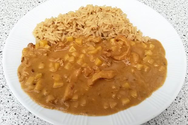 Curry Huhn Madras