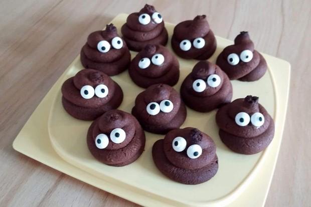 Kacki-Kekse für Halloween