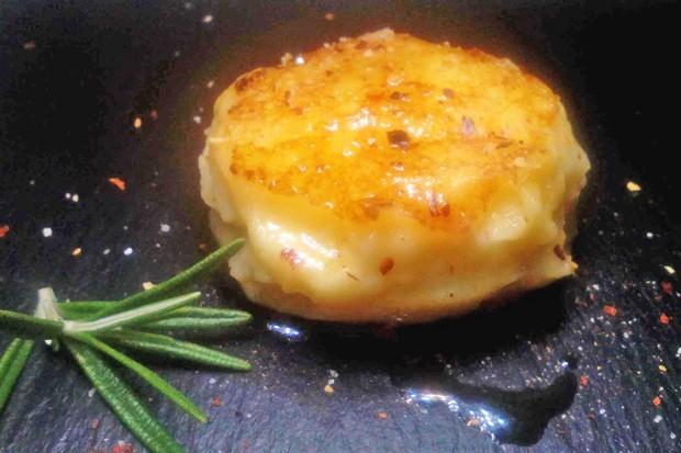 Kartoffelkrapferl getrüffelt
