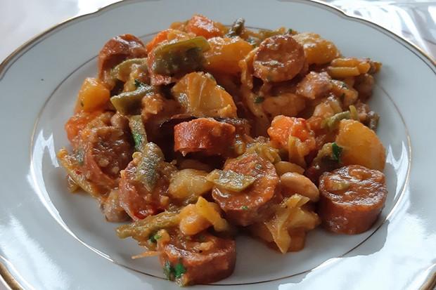 Chorizo-Bohnen-Pfanne