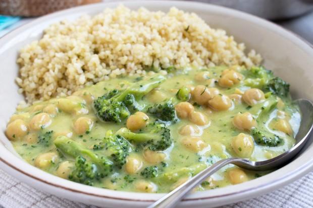 Kichererbsencurry mit Quinoa
