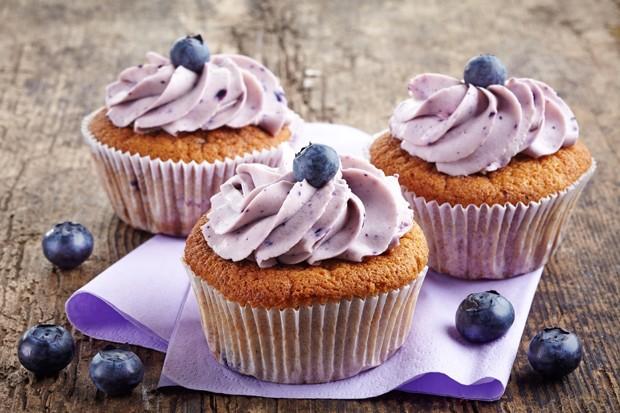 Heidelbeer-Cupcakes