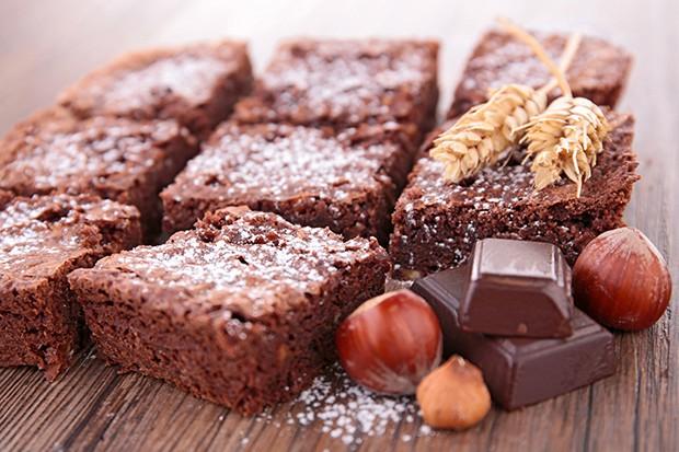 Schoko-Nuss-Brownie