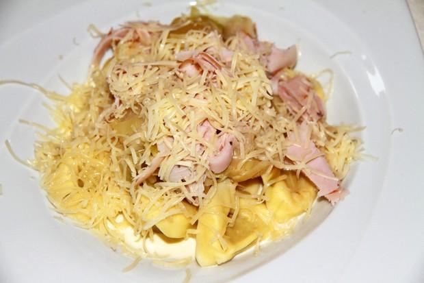 Pasta mit frischer Lauch - Sauce