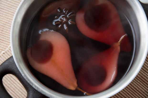 Rotwein-Birnen