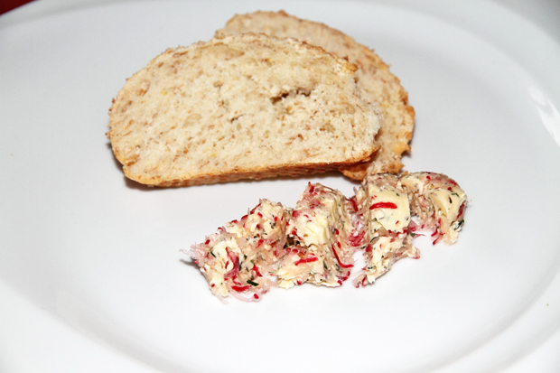 Radieschen - Butter