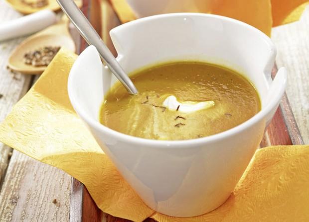 Kürbissuppe süß-sauer