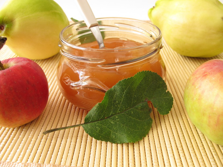 Apfel-Quitten-Marmelade
