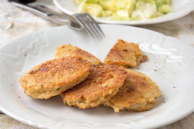Käse-Couscous-Laibchen