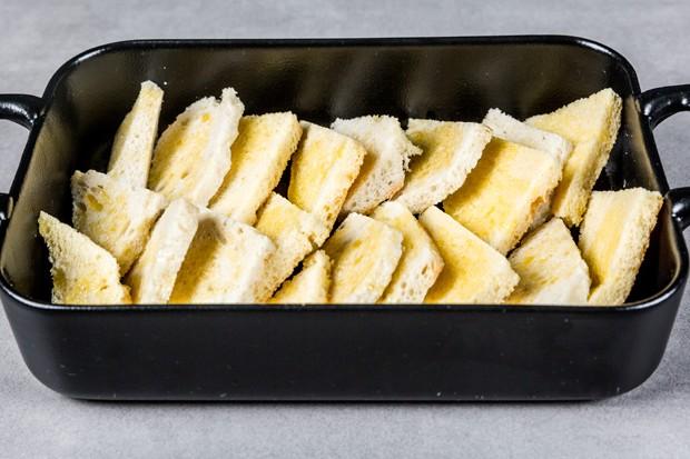 Brot-Butter-Auflauf