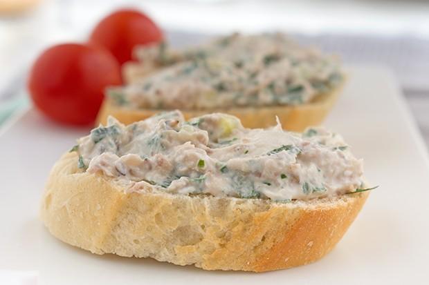 Bärlauch-Thunfisch-Aufstrich