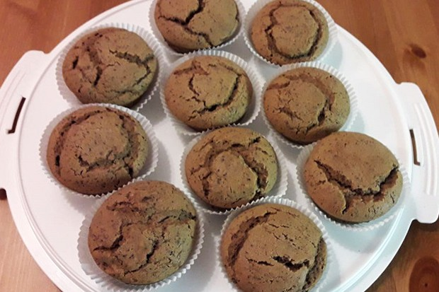 Vegane Mohn-Kakao Muffins