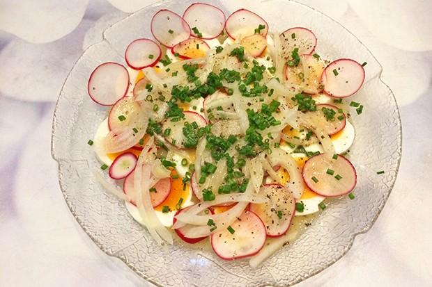 Ei-Radieschen-Salat