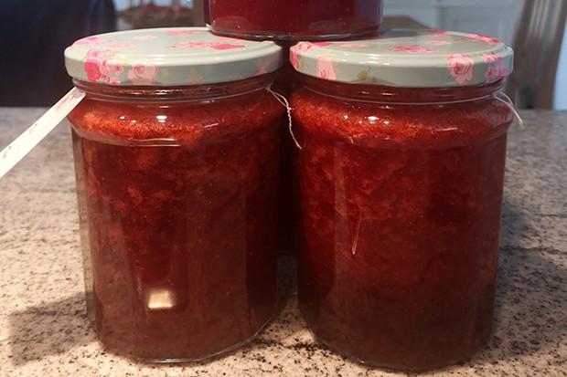 Erdbeer Zimt Marmelade