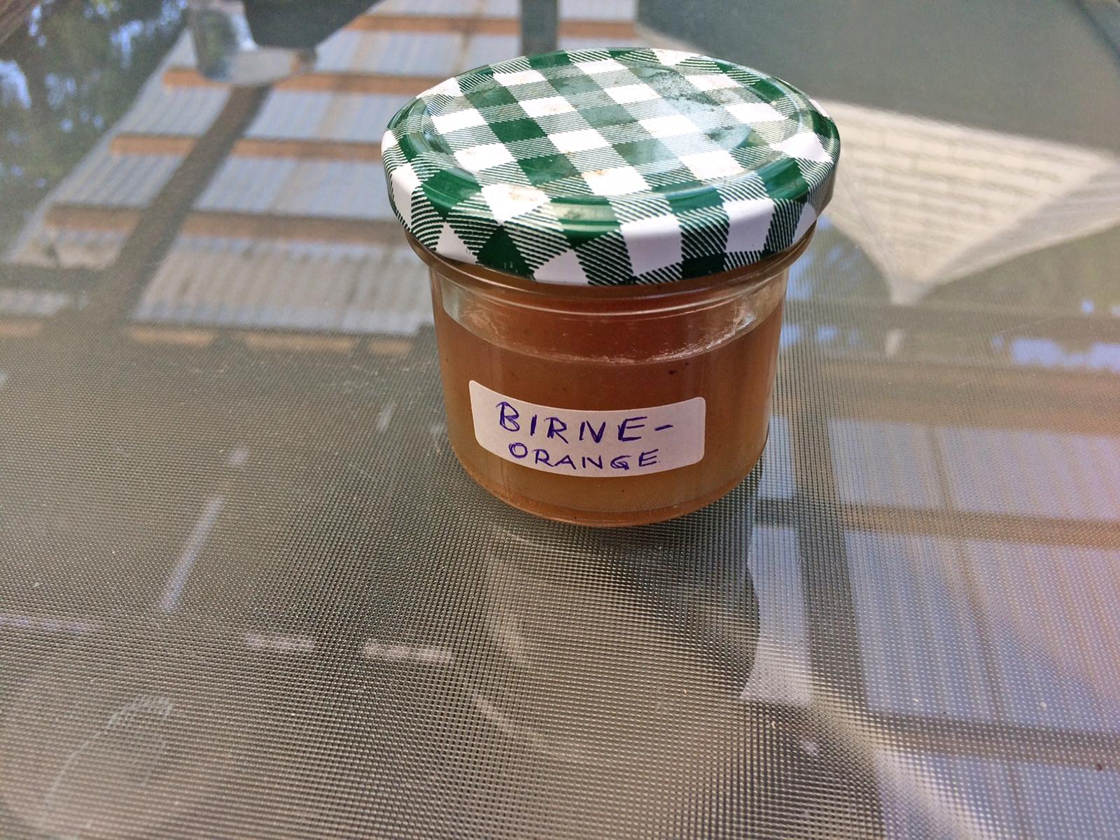 Birnen-Orangen-Marmelade