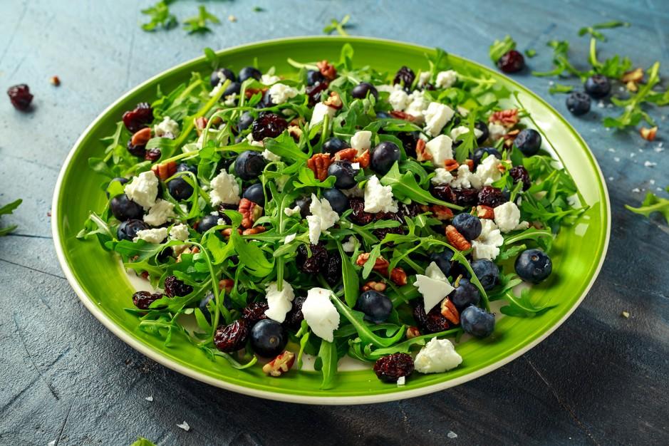 Rucola-Salat mit Feta