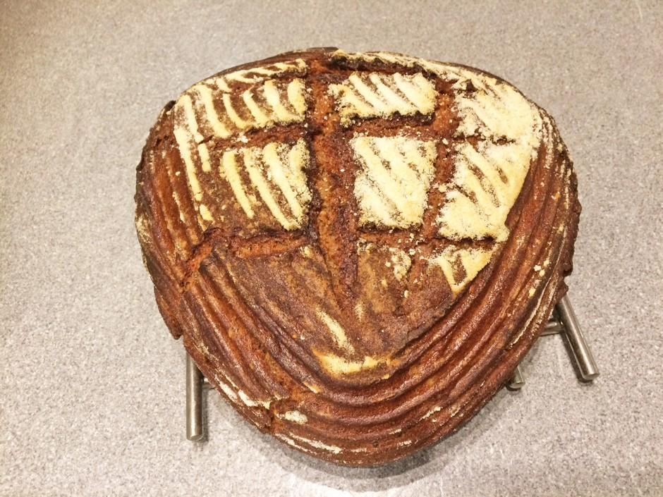 Roggen-Weizenbrot