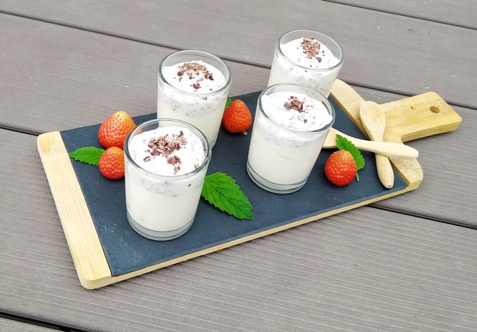 Stracciatella-Joghurt