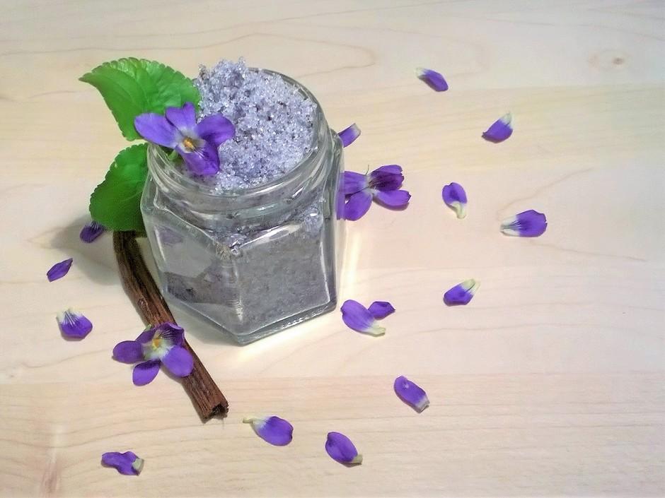Veilchen-Vanillezucker