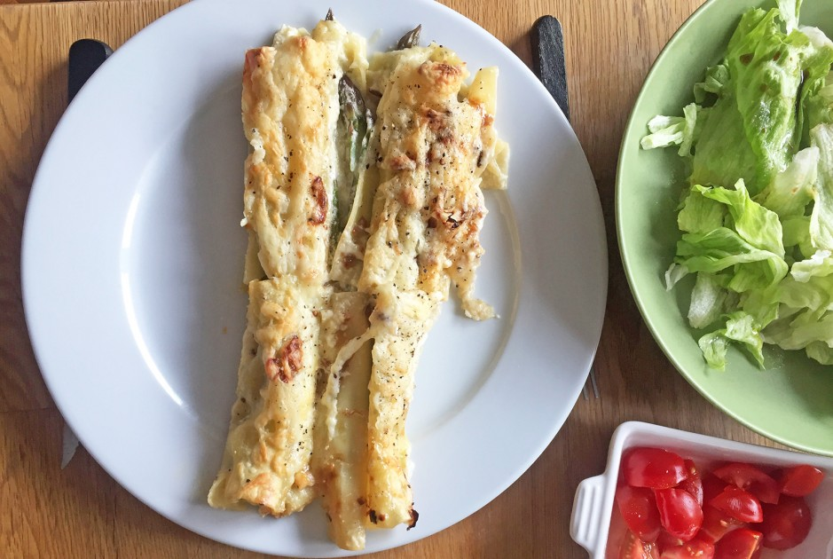 Spargelcannelloni