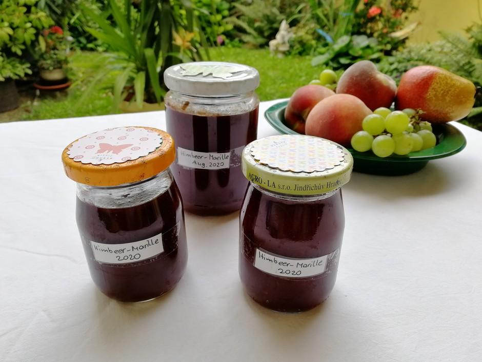 Himbeer-Marillen-Marmelade
