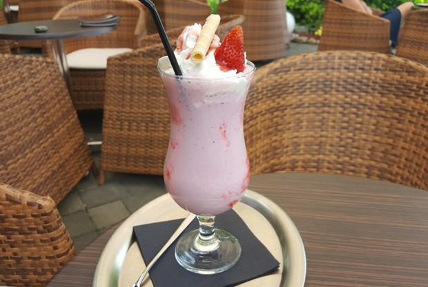 Erdbeer Frappe