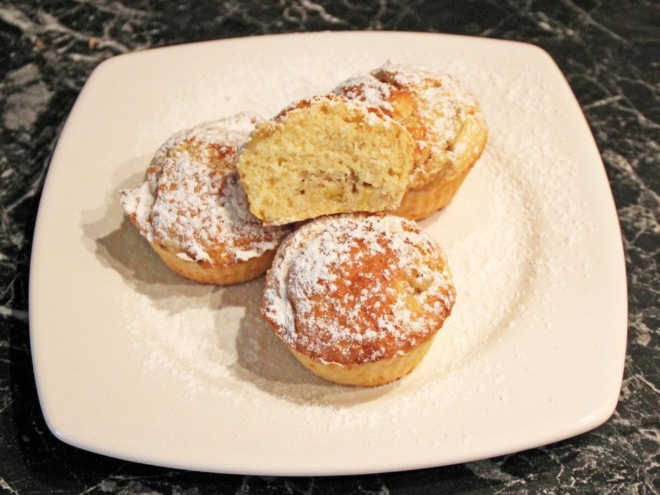 Bananen-Kokos-Muffins