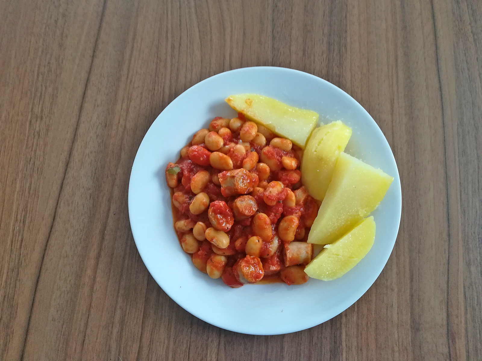 Tomaten-Bohneneintopf
