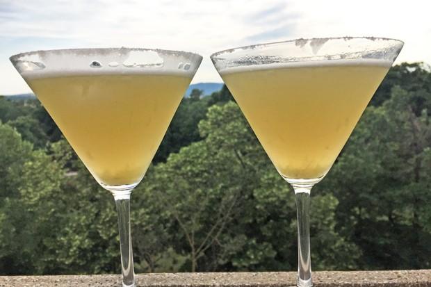Margarita mit Schaum - Frozen Frothy Margarita