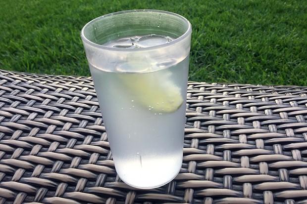 Sommerlicher Gin Fizz mit Limette